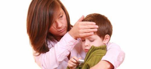 Homeoatia febre crianças